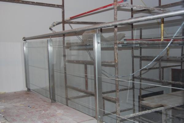 Balustrada szklana Warszawa