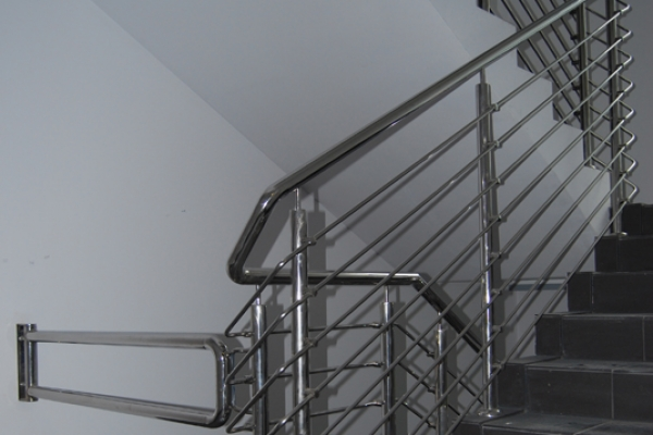 Balustrada stal nierdzewna Wrocław ul.Nyska